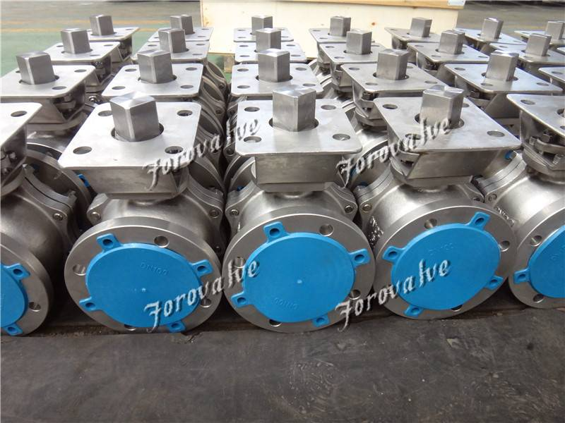 600LB Flanged Titanium Alloy Float Ball Valves