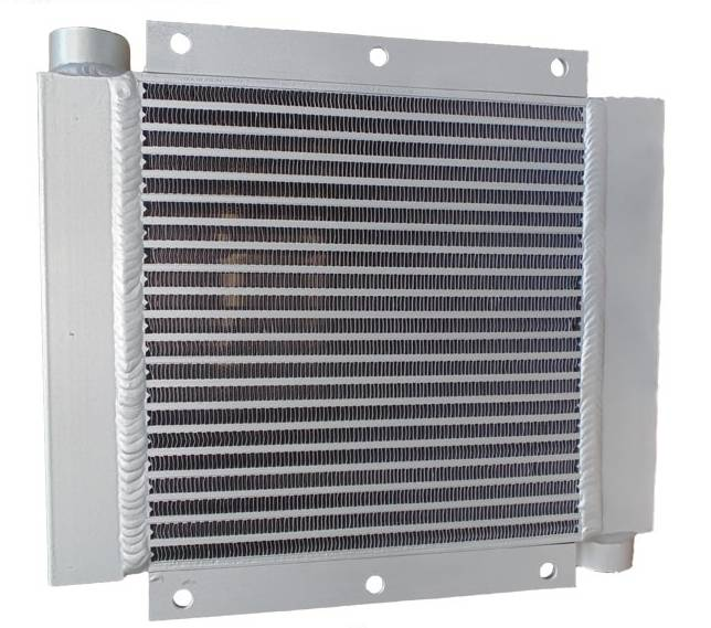 High Quality Aluminum Plate Fin Compressor Oil Cooler For Ingersoll Rand