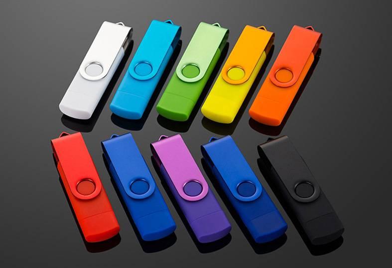 Mobile Phone Flash Drive Key chain Swivel OTG USB Flash Drive