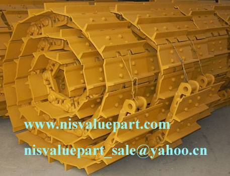 Track Shoes Assembly for Excavators, Bulldozers, Crane