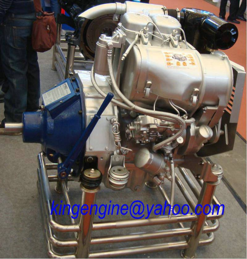 Deutz F2L912 Engine With gear box