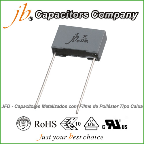 JFD--Box Type Metallized Polyester Film Capacitor