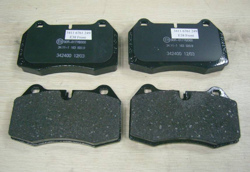 Front Brake Pads For BMW E38 OE#3411 6761 249