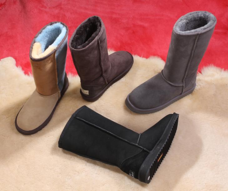 5815 VAA Classical Design 100% Australian Double Face Sheepskin Winter Snow Boots
