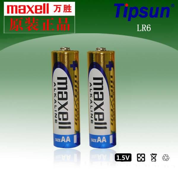 LR6 AA AM-3 1.5V Maxell Alkaline Battery For Remote Control