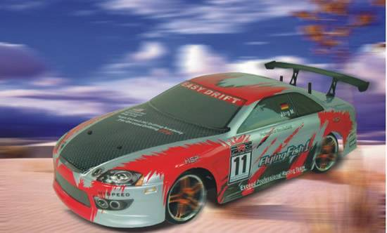 1:10th Scale 4WD Electric Powered Drifting On-road racing car