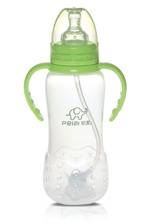 300ml Standard neckgourd frosted feeding bottle with handle
