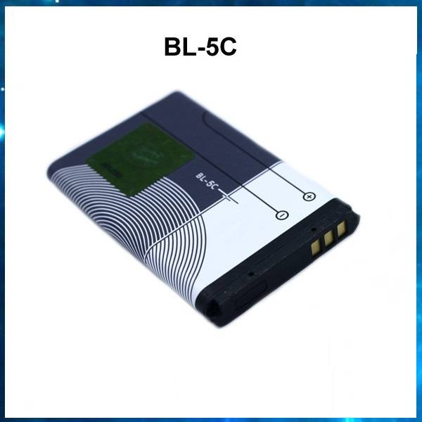 3.7V Li-ion rechargeable mobile phone battery bl-5c for Nokia E50 E60 N70 N71 N72 N91, factory OEM