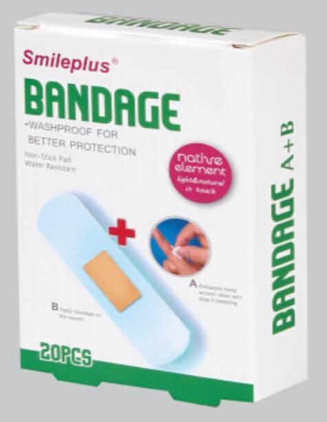 PU bandage+Alcohol Pad