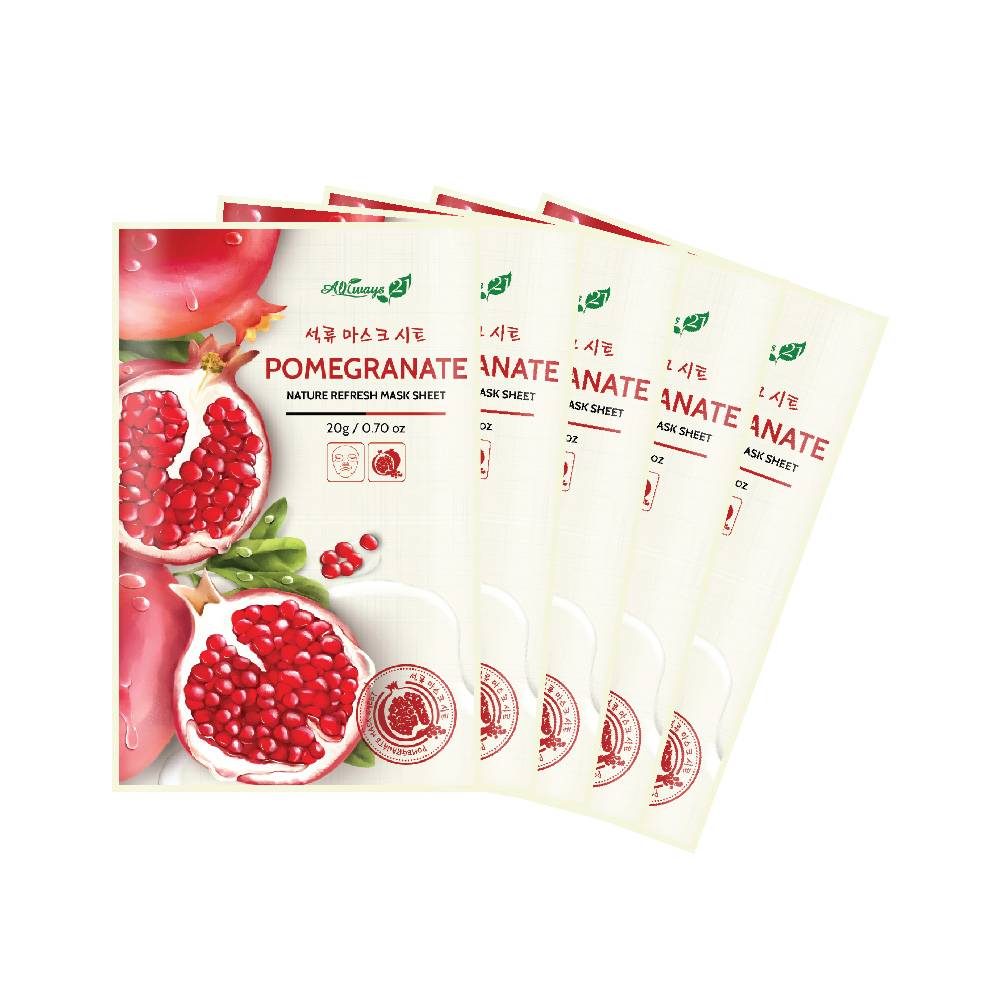 Always21 Nature Refresh Pomegranate Mask Pack