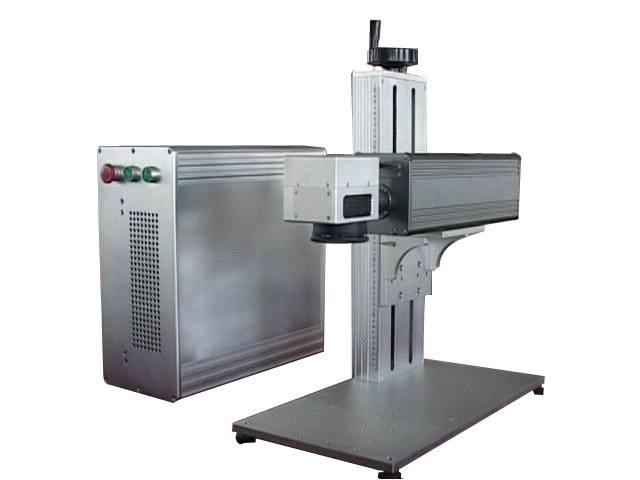 Portable 10W/20W Fiber Laser Marking Machine for metal