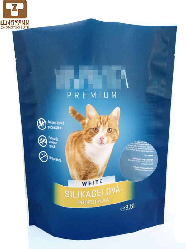 3.8L Bentonite cat litter bag\Silica gel cat litter bag