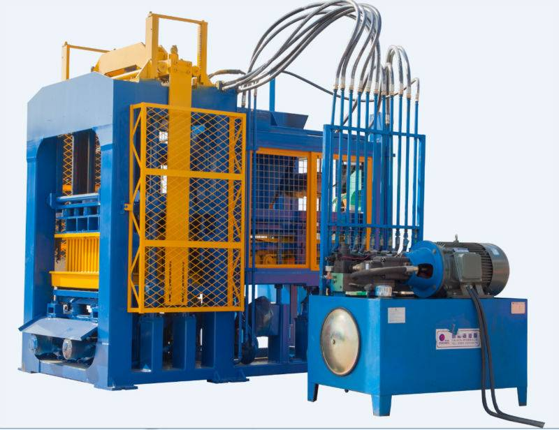 QT8-15A hydraulic sand cement brick making machine