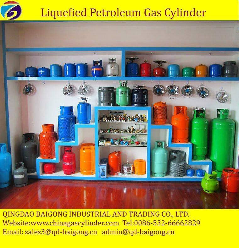 China supplier Cooking Gas Cylinder LPG Gas Cylinder
