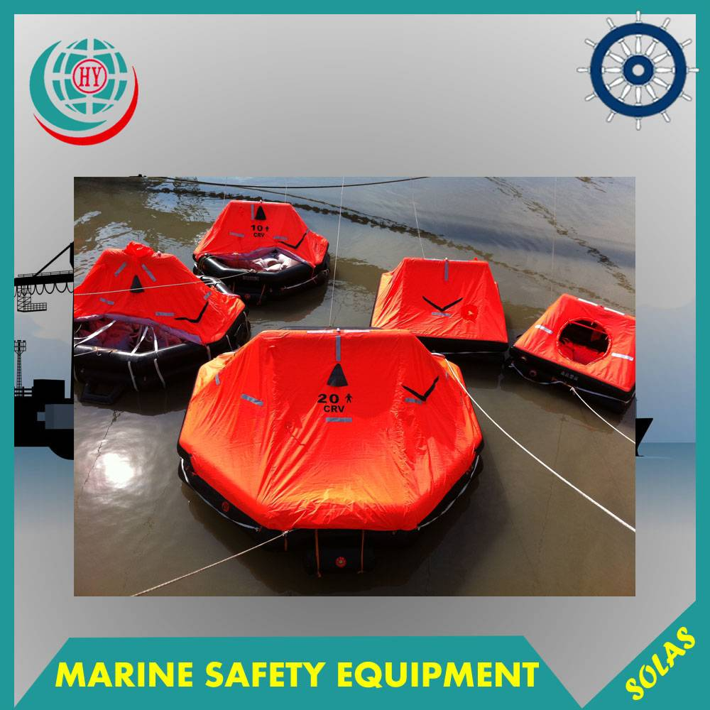 Marine Inflatable Liferaft,Life Rafts For 25 Person