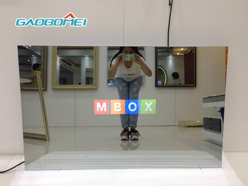 "Gaobomei 65"" TV Mirror Ultra HD SUPER SLIM Android LED Magic Mirror TV Smart LCD TV"