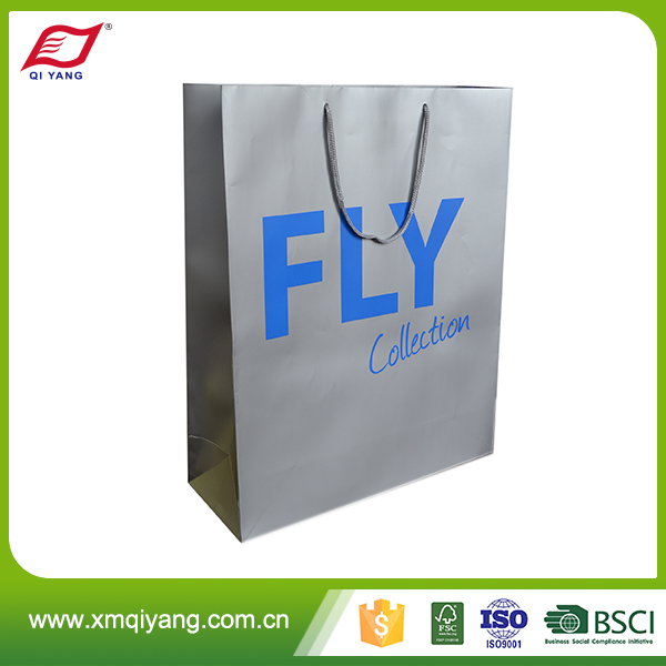 OEM custom high quality alibaba china shoes paper bag logo print
