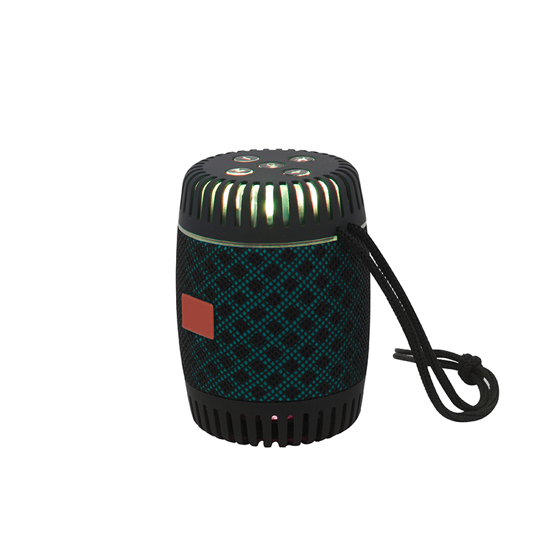 outdoor portable speaker, bluetooth wireless, hot mini model with led