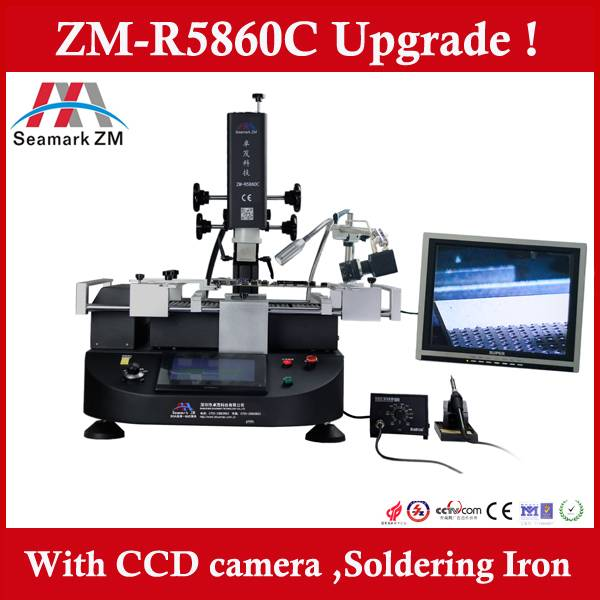 ZM-R5860C bga soldering station with camera and monitor