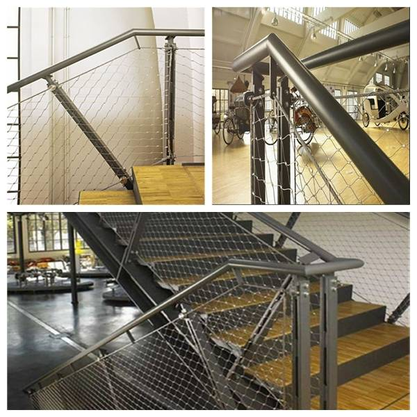 Inox X-tend Cable Webnet For Staircase Safety Net