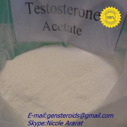 Testosterone Acetate Raw steroids Powders CAS: 1045-69-8