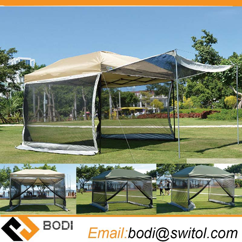 Outdoor High Density Gazebo Environmental Protection Network Anti Mosquito Nets Pest Folding Canopy