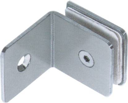 stainless steel handrail fitting glass clamp