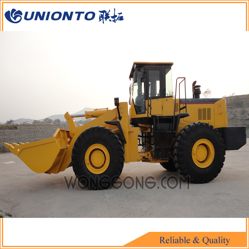 Best of China wheel loader, wheel loader UNIONTO 867, front wheel loader