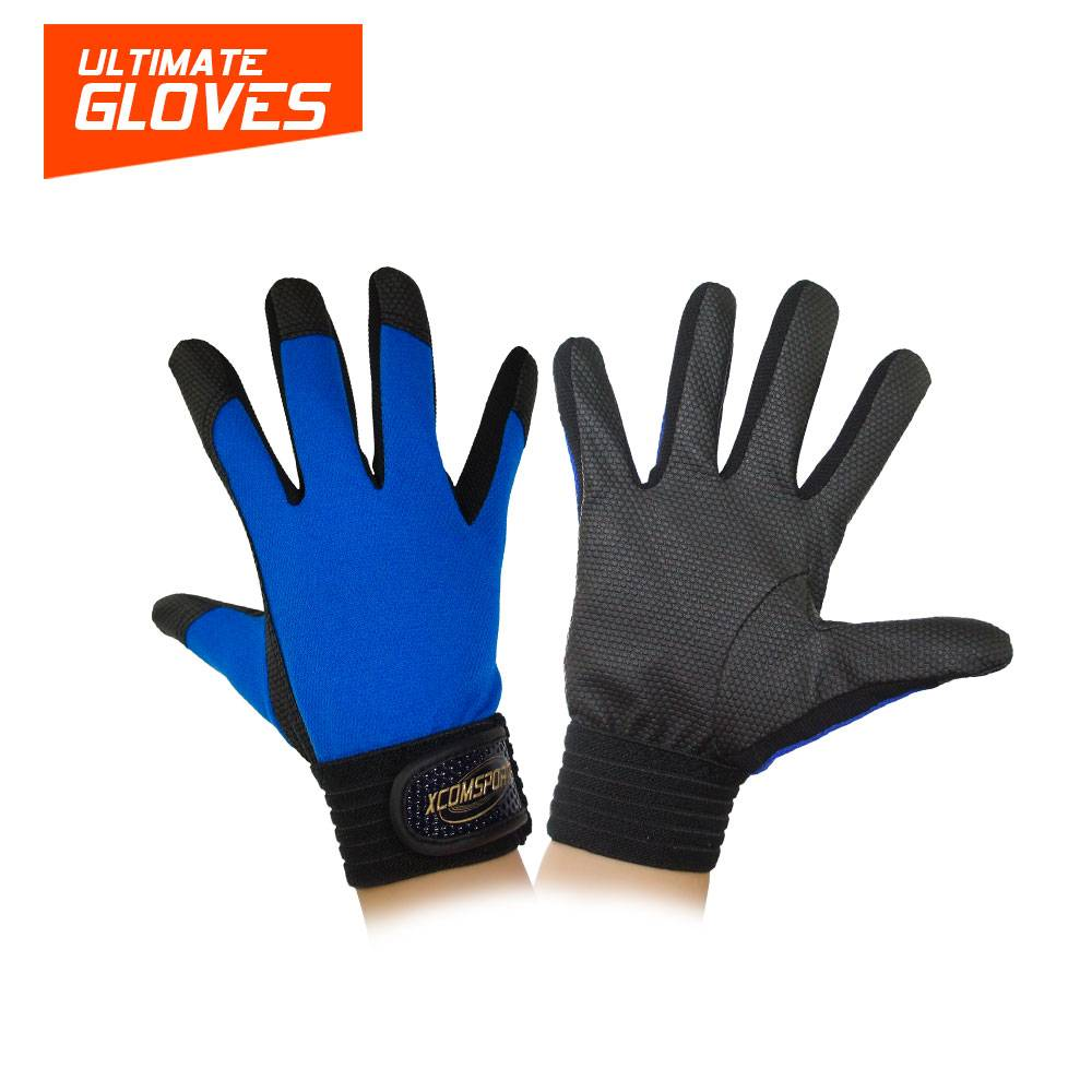 X-COM Good Friction Gloves Super Durable Ultimate Frisbee Gloves