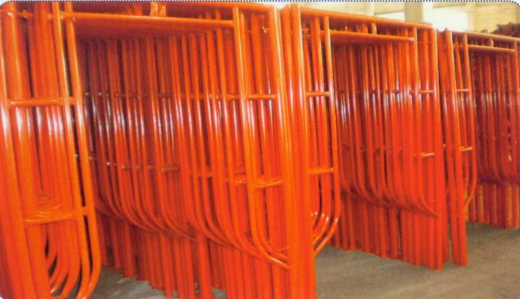 H-frame scaffoldings