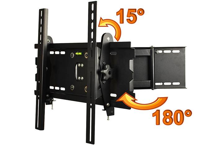 X0560A easy adjust tv wall mount brackets