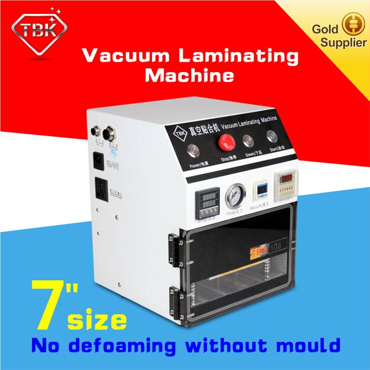 Cell Phone Repair Kit 7 inch Vacuum OCA Lamination Machine for LCD refurbishment