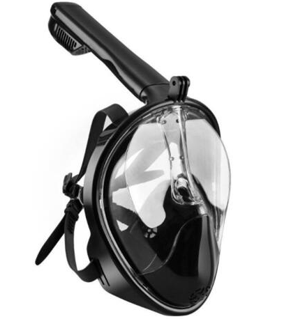 Full Face Snorkel Mask With Gopro Mount
