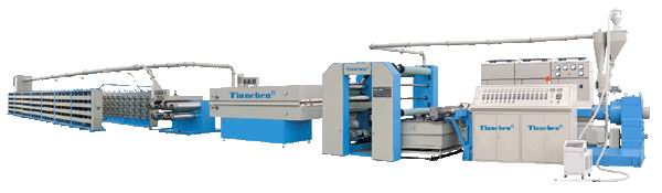 PP Flat Yarn Extruder/Tape production Line