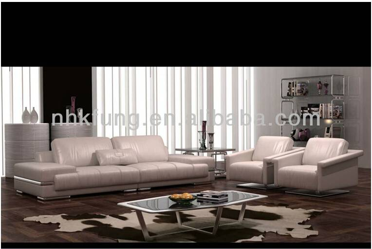 Luxurious Style Genuine Leather Sofa For Lounge SF-175