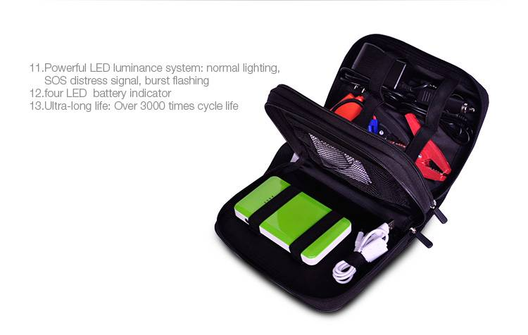Car Battery Charger mobile power bank made in china