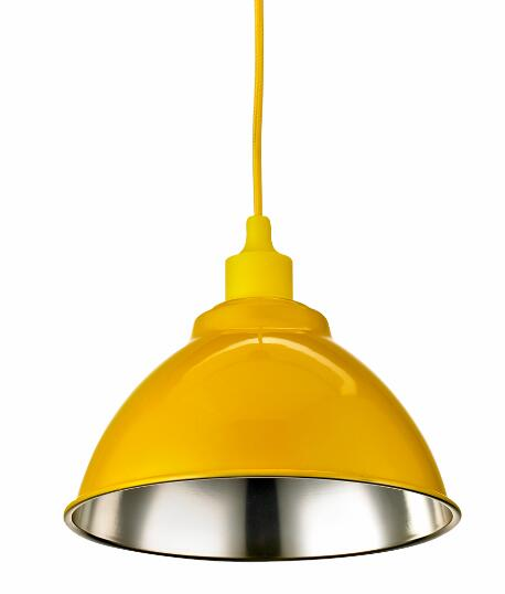 Colorful supermarket light lamps
