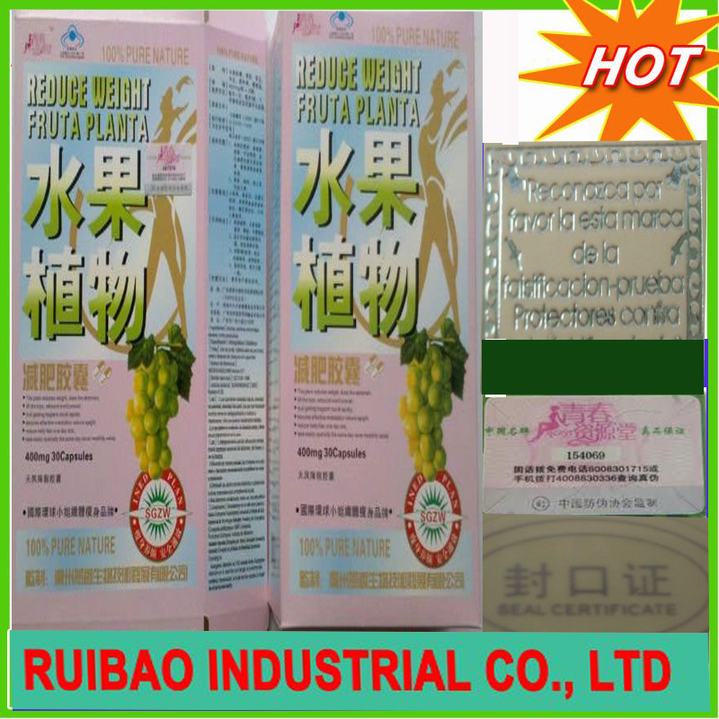 2011 New pure dietary supplement fruta planta slimming product