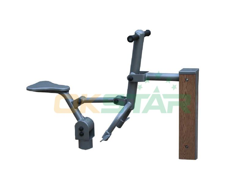 High quality outdoor fitness equipment Park exercise for adults WPC fitness equipment the fun rider