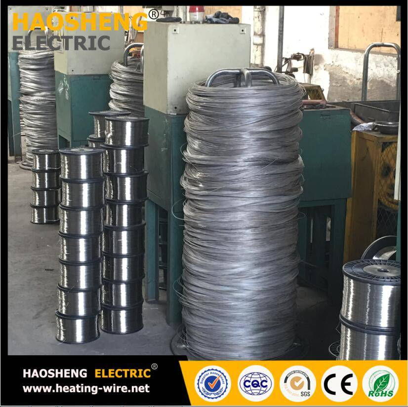 Nichrome heating element heating materials for SNOW MELTING HEATING CABLE