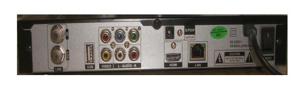 HD DVB-S2 Internet Sharing Receiver, with USB, PVR, Ethernet Port