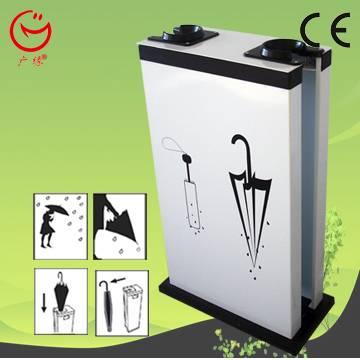 Umbrella wrapping machine/umbrella bag dispenser/umbrella holder