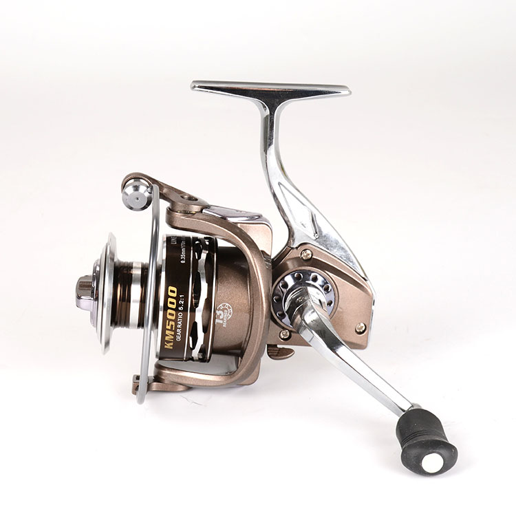High Quality Manufacture Cheap Metal KM 1000-7000 Spinning Fishing Reel