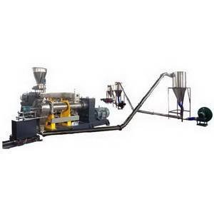 Air-cooling Hot-cutting Pelletizing System