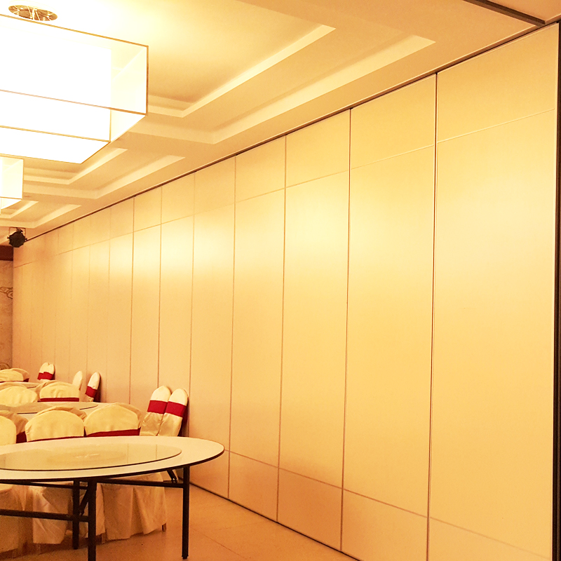 Great Hall Interior Aluminium Sliding Door Operable Wall Partition Movable Room Divider