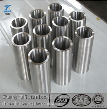 Titanium tube, TC4 titanium alloy tube, titanium alloy pipe processing work