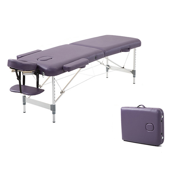 Portable folding up massage table