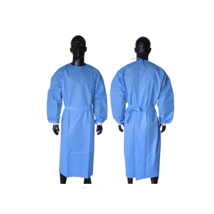Disposable Medical Isolation Gown Non woven Isolation Gown
