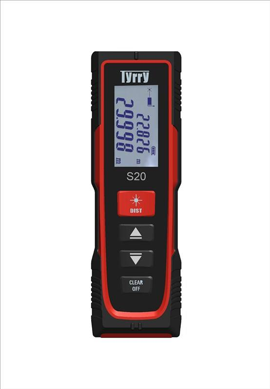 New model laser distance meter 20m small and easy for DIY users