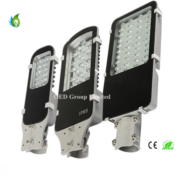 50W Little Golden Beans LED Street Lights with PF0.97 and 120lm/W